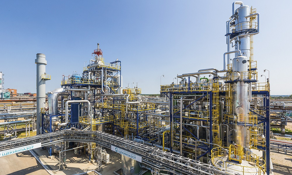 Shchekinoazot's methanol production site phase three